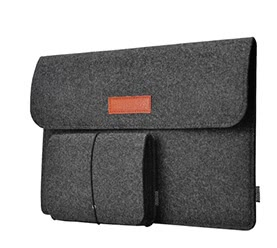 12-Inch Laptop Felt Sleeve Bag