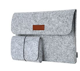13.3-Inch Laptop Felt Sleeve Bag
